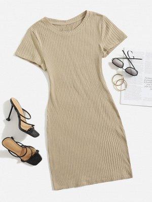 Платье-футболка трикотажный