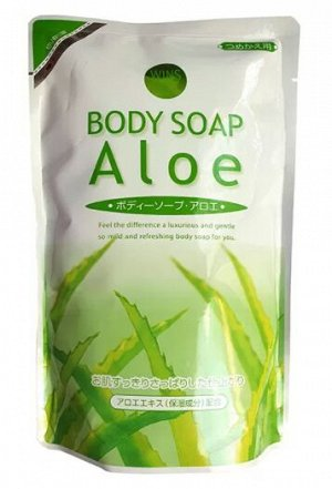 Гель для душа Wins Aloe Body Soap (480 мл)