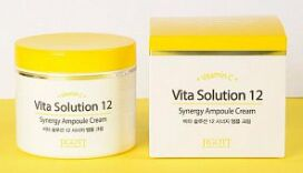 Jigott Vita Solution 12 Ампульный крем для лица энергитический 100 мл