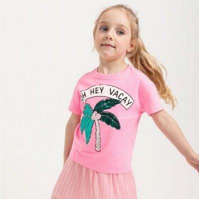 BONITO Трикотаж для детей. Футболки, костюмы, брюки, шорты — Футболки девочкам