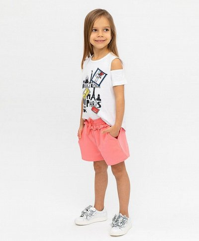 BONITO Трикотаж для детей. Футболки, костюмы, брюки, шорты — Костюмы летние девочкам