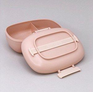 "Ланчбокс ""Fashion style"", pink"