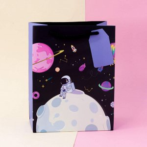 "Подарочный пакет(L) ""Sweet space"" One cosmonaut"