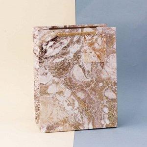 """Подарочный пакет(S) """"Paints"""", brown"""