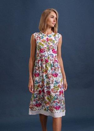 Платье пл433 цветное