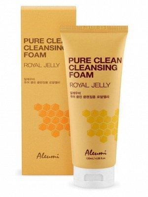 ALEUMI Pure Clean Пенка очищающая с маточным молочком, 120 мл