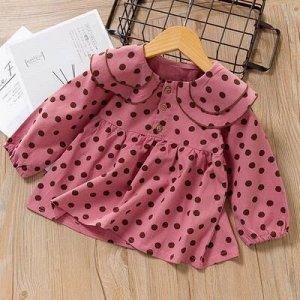 Платье Ярко-розовый