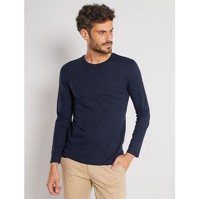 Одежда из Франции для всей семьи — Мужчины. Футболки с длинным рукавом