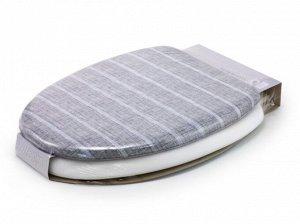 Мягкое сиденье для унитаза Lino stripe-O