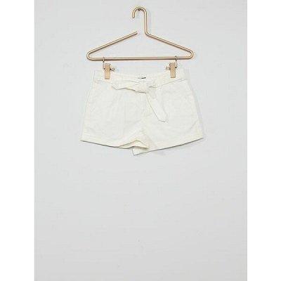 Одежда из Франции для всей семьи — Девочки. Укороченные брюки, шорты