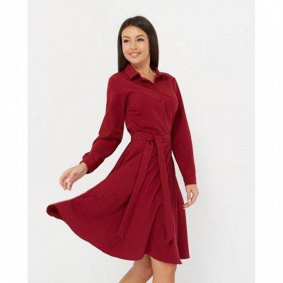 Разве может настоящая женщина не купить новое платье? — Платье-рубашка однотонные короткие