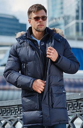 Зимняя подростковая куртка с мехом