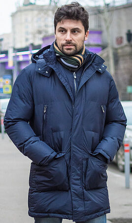 Зимняя подростковая куртка без меха