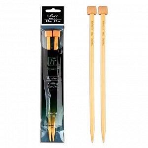 Спицы прямые бамбуковые Takumi 7.0 мм/23 см