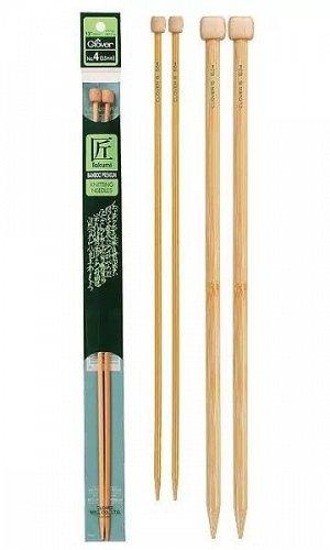 Спицы Clover бамбуковые прямые 3012 10.0 мм/35 см