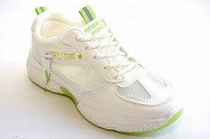 Кроссовки G6835-21 бел/зел