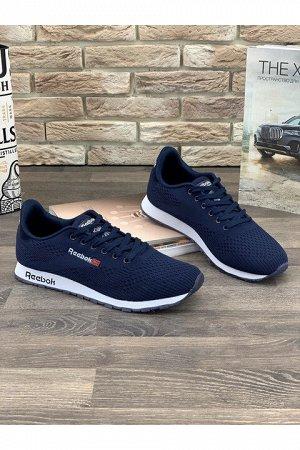 Мужские кроссовки А8203-18 темно-синие