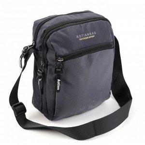 Мужская текстильная сумка через плечо