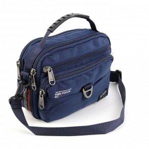 Мужская текстильная сумка через плечо и на пояс