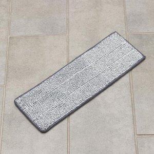 Насадка для плоской швабры (на швабру 1147256) Доляна, 31,2?12,5 см, микрофибра, цвет МИКС