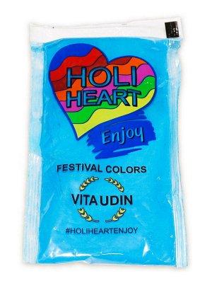 Краска Холи  Харт цвет синий 120 гр