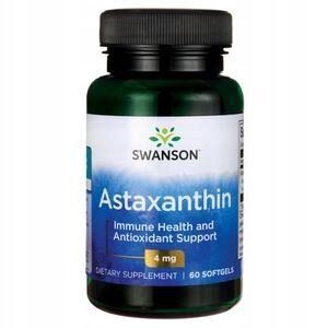 Пищевая добавка Swanson Hi Pot Astaxanthin 4 mg 60 caps