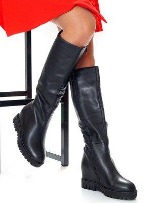 Сапоги Страна производитель: Китай Размер женской обуви x: 35 Полнота обуви: Тип «F» или «Fx» Сезон: Зима Вид обуви: Сапоги Материал верха: Натуральная кожа Материал подкладки: Евро Каблук/Подошва: Та
