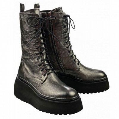 Итальянская обувь! Новый сезон + распродажа до 60% — Полусапоги