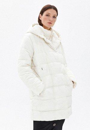 Куртка утеплённая стёганая, цвет молочный