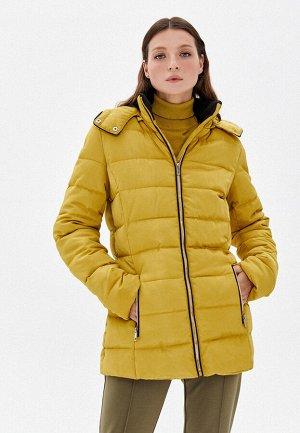 Куртка утеплённая стёганая, цвет оливковый