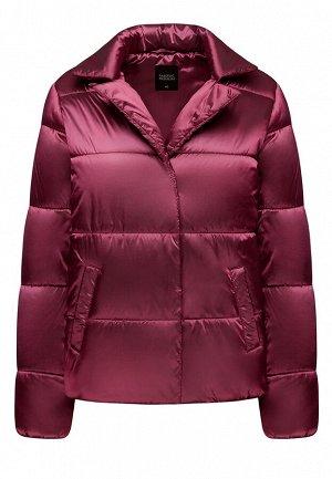 Куртка утеплённая стёганая, цвет фуксия