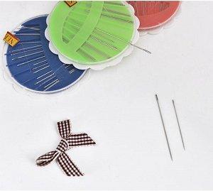 Набор швейных игл в пластиковом боксе