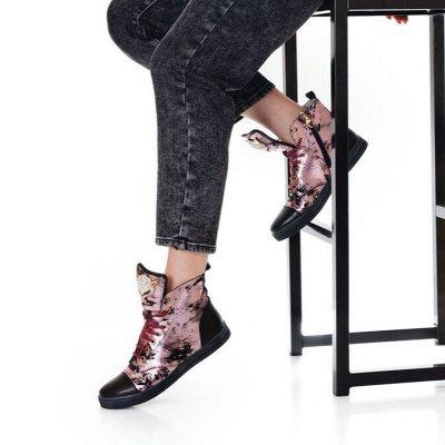 Обувь + без рядов! Горячие новинки осень 2021🔥 — Полусапоги демисезонные