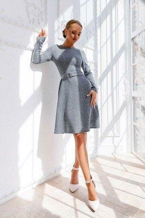 Платье Плотный вискозный трикотаж - идеальный выбор для повседневных и офисных моделей. Неброский цвет выглядит очень элегантно. Платье прекрасно сидит по фигуре подчёркивая только лучшие её стороны.