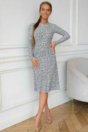 Платье Трикотаж масло