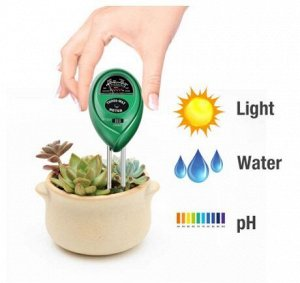 Датчик влажности почвы, освещения и PH