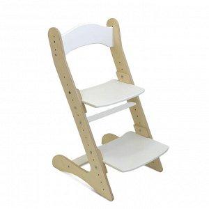 Растущий стул для детей «Компаньон» белый акрил
