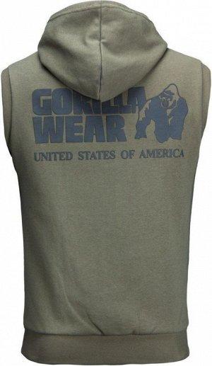 "Безрукавка с капюшоном Gorilla Wear ""Springfield"" GW-90705 хаки"