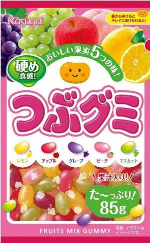 Жевательный мармелад из 5-ти фруктов 85 гр. /Япония/