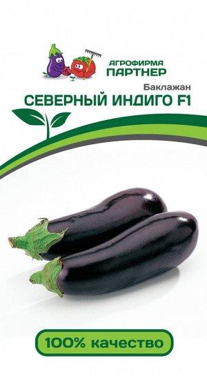 Семена Баклажан Северный Индиго F1 ^10ШТ В 2-НОЙ