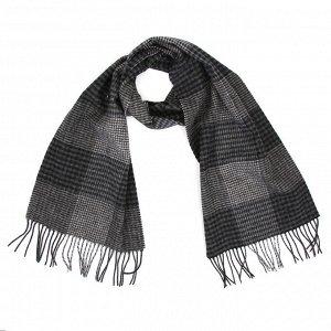 Мужской шарф 30*180см, состав 100% шерсть,LEO VENTONI, YTC21188-2