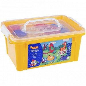 """Набор для лепки JOVI """"Зоопарк"""" 05 цветов*50г, аксессуары, пластиковый контейнер"""