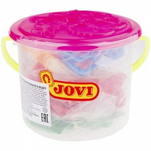 Набор для лепки JOVI, формочки 24шт., пластиковое ведро