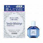 """LION Smile Whiteye  """"эффект белых белков""""-Глазные капли от усталости глаз, 15 мл"""