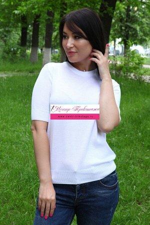 Джемпер белый №Н-6580