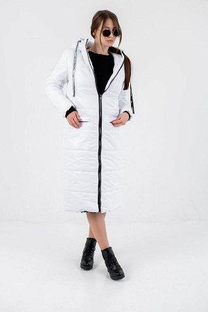 """Пальто зимнее Джой"""" белый"""""""
