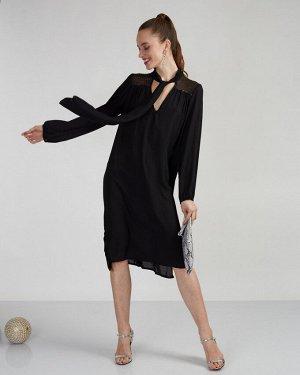 Платье жен. (999999)чёрный