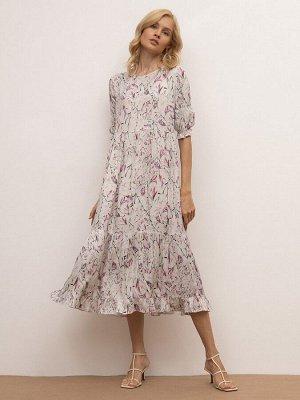 Платье с цветочным принтом PL1147/virginy