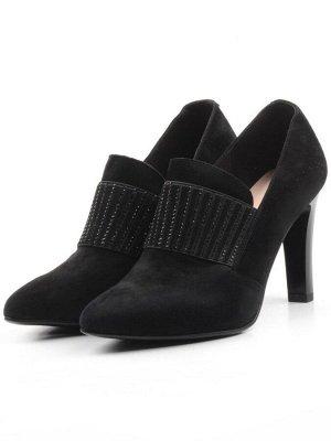 D8829-2 BLACK Туфли женские (натуральная кожа)