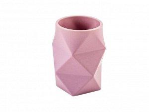 Стакан Сrump керамика розовый